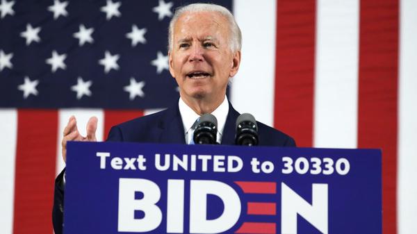 Presumptive Democratic presidential nominee Joe Biden harshly criticizes President Trump