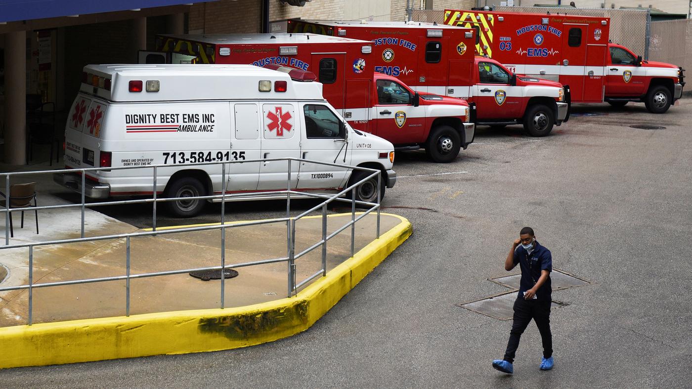 Hospital de Houston abre espaço para casos de surto de COVID-19: atualizações ao vivo do Coronavirus: NPR 1