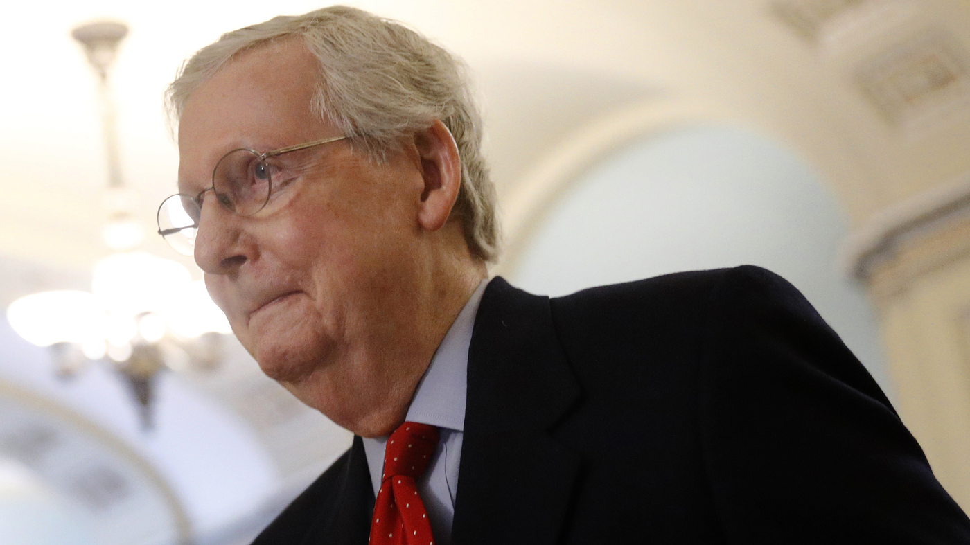Trump And McConnell, Via Swath Of Judges, Will Affect U.S. Law For Decades