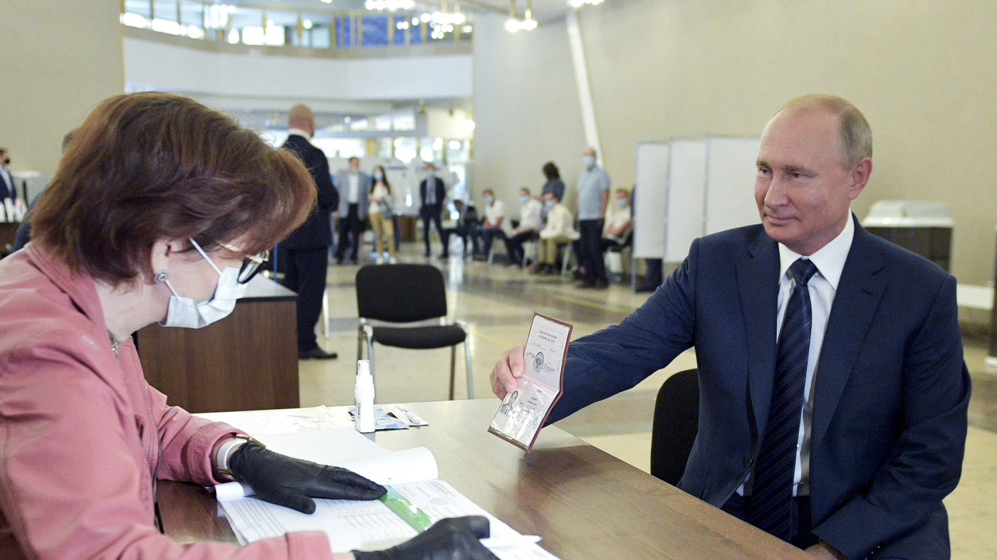 Referendum In Russia Passes Allowing Putin To Remain President Until 2036 – NPR