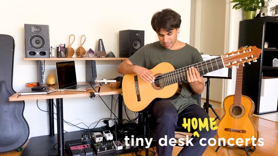 Fabiano do Nascimento plays a Tiny Desk (home) concert.