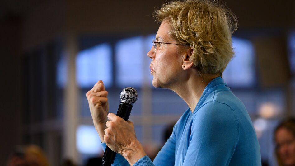 Many progressives want Sen. Elizabeth Warren to be Joe Biden's vice presidential pick. (Jim Watson/AFP via Getty Images)