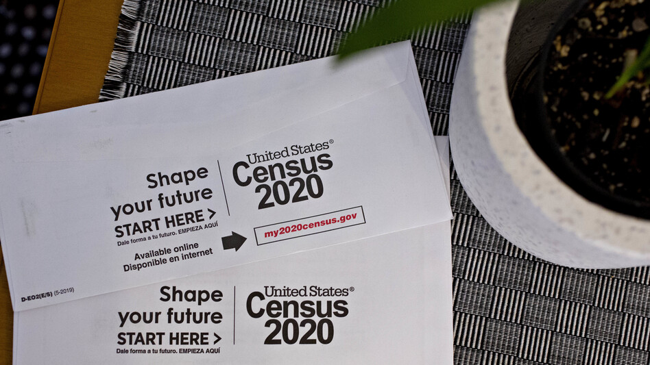 After delaying sending out door knockers because of the pandemic, the Census Bureau announced the first six areas of the U.S. where unresponsive households are set to get in-person visits starting July 16. (Andrew Harrer/Bloomberg via Getty Images)