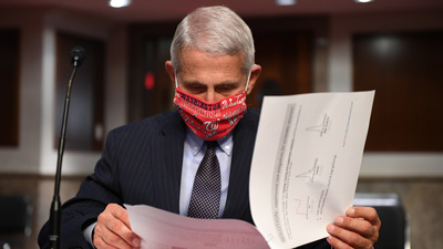 The Mask Debate Is Over; Fauci On Mandates, Vaccine Skepticism