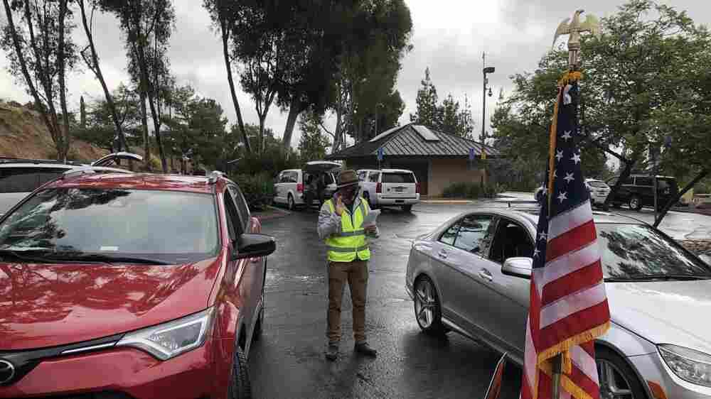 Drive-Through Naturalizations Make New U.S. Citizens In The COVID-19 Era