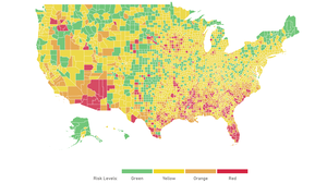 Green, Yellow, Orange Or Red? This New Tool Shows COVID-19 Risk In Your County