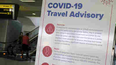 Some States To Out-Of-Towners: If You Come Visit, Plan To Quarantine For 2 Weeks