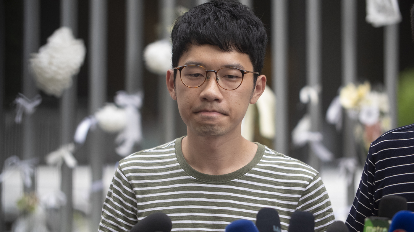 Hong Kong Activist Nathan Law Says He Has Fled Abroad Amid Beijing-Backed Crackdown – NPR