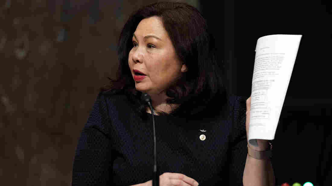 Duckworth Says She'll Block Military Promotions Until Vindman Gets Consideration