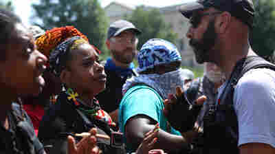 An Uneasy July 4th In Richmond, Va., As Armed Groups Gather Warily