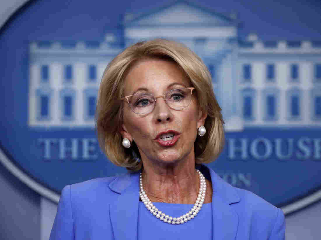 MI sues DeVos over order to give millions to private schools
