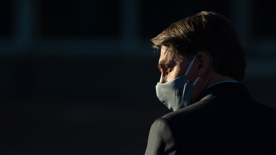 Brazilian President Jair Bolsonaro has repeatedly doubted the severity of the virus since it first found a foothold in Brazil, reportedly in late February. (Andressa Anholete/Getty Images)