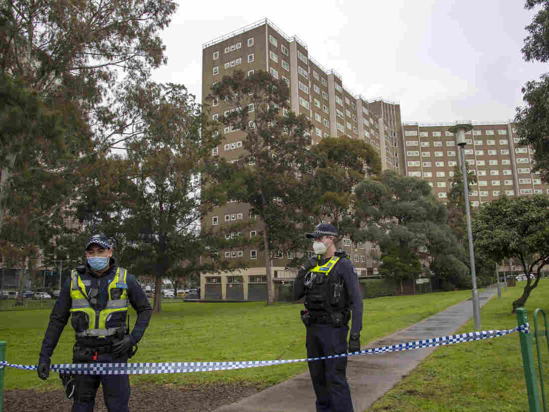 Australia's second-biggest city under new virus lockdown