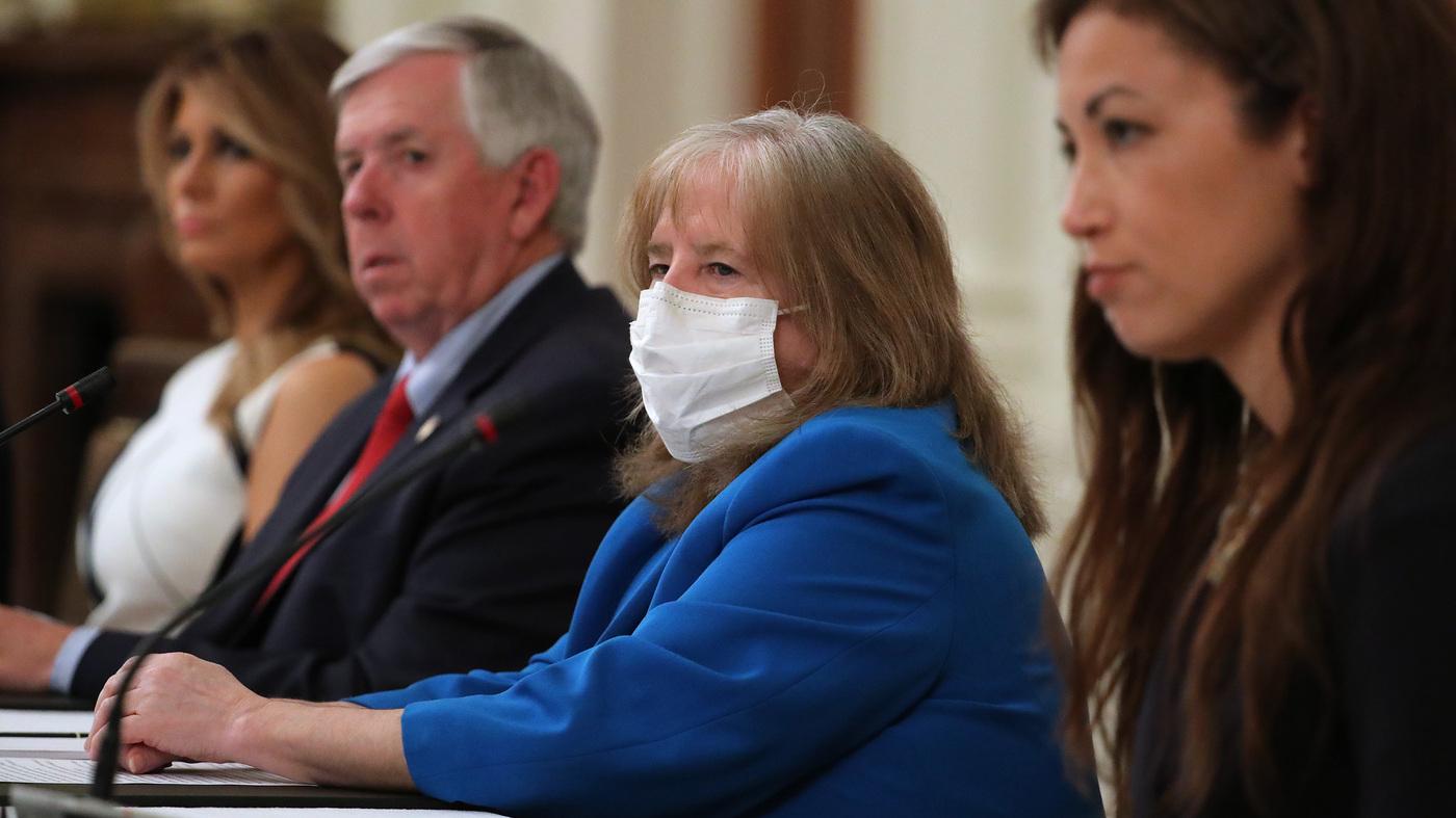 Doctor Pushes Back On Trump's Coronavirus School Reopening Efforts : Coronavirus Live Updates - NPR