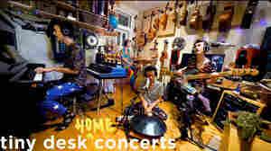 Jacob Collier: Tiny Desk (Home) Concert