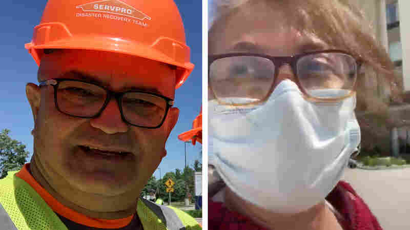 'We Were Treated Worse Than Animals': Disaster Recovery Workers Confront COVID-19