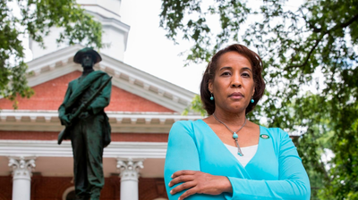 Loudoun County's First Black Chair Presides Over Vote To Remove Confederate Monument