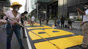 NYC Begins Painting Black Lives Matter Mural In Front Of Trump Tower