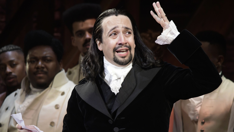 Lin-Manuel Miranda is the composer and creator of the award-winning Broadway musical <em>Hamilton</em>. History's Alexander Hamilton was at the center of the push to create an Electoral College. (Carlos Giusti/AP)