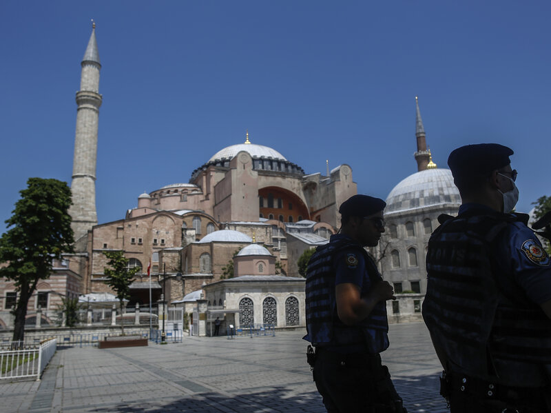 Turkey's President Converts The Hagia Sophia Back Into A Mosque