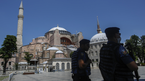 Turkey Converts Istanbul's Iconic Hagia Sophia Back Into A Mosque