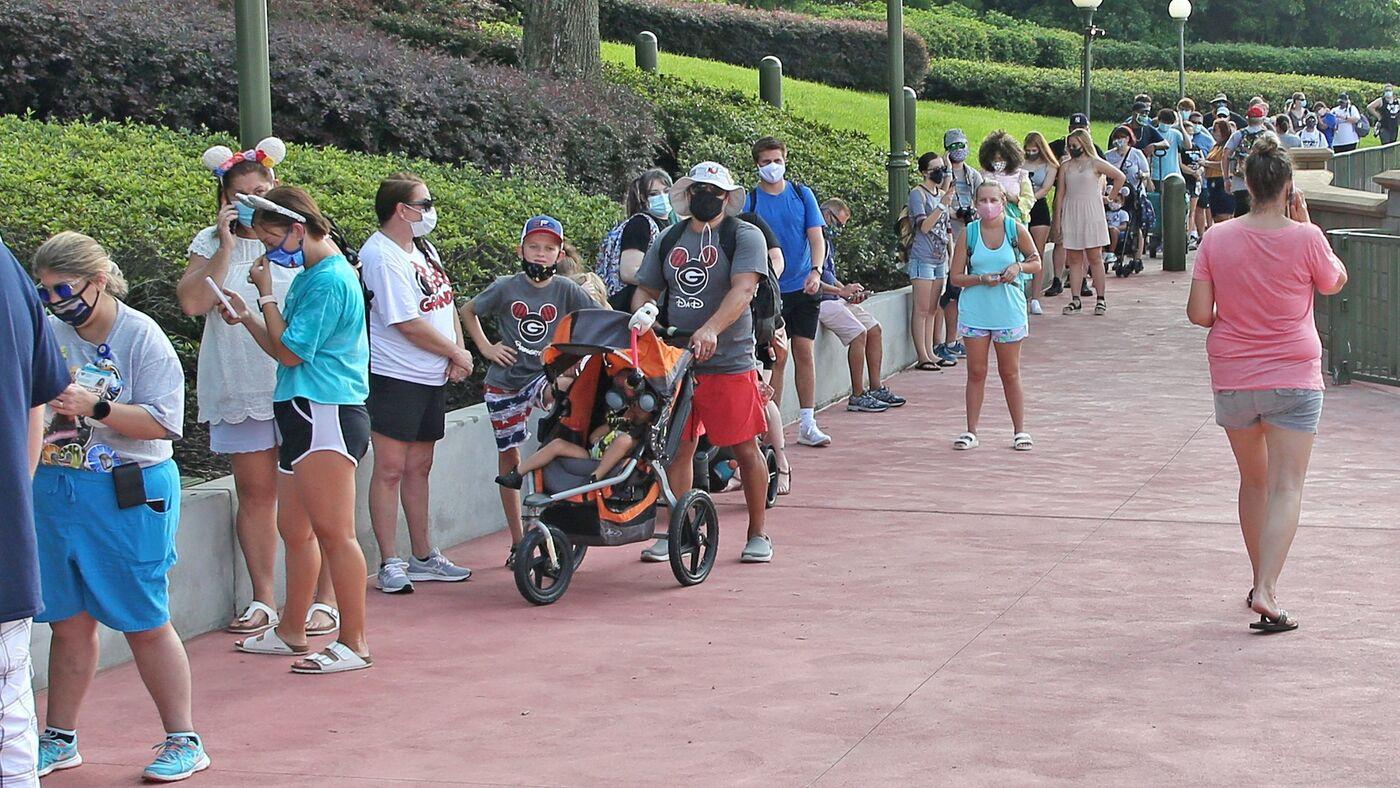 Disney World Reopens As Florida Sees Surge In Covid 19 Cases Coronavirus Updates Npr
