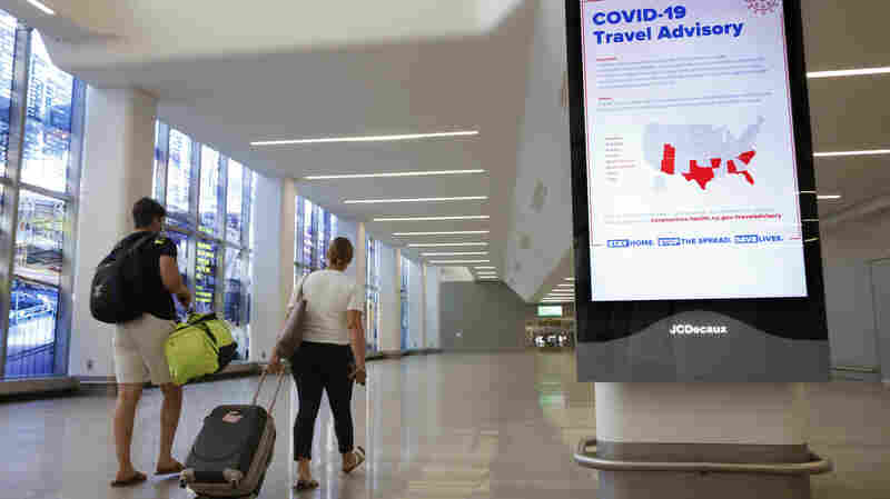 New York To Require Contact Info From Air Travelers From States That Must Quarantine