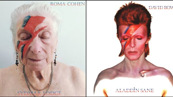 At U.K. Care Home, Residents Brilliantly Re-Create Iconic Album Covers On Twitter