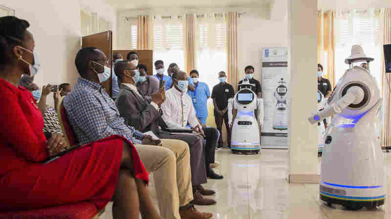 A COVID-19 Success Story In Rwanda: Free Testing, Robot Caregivers