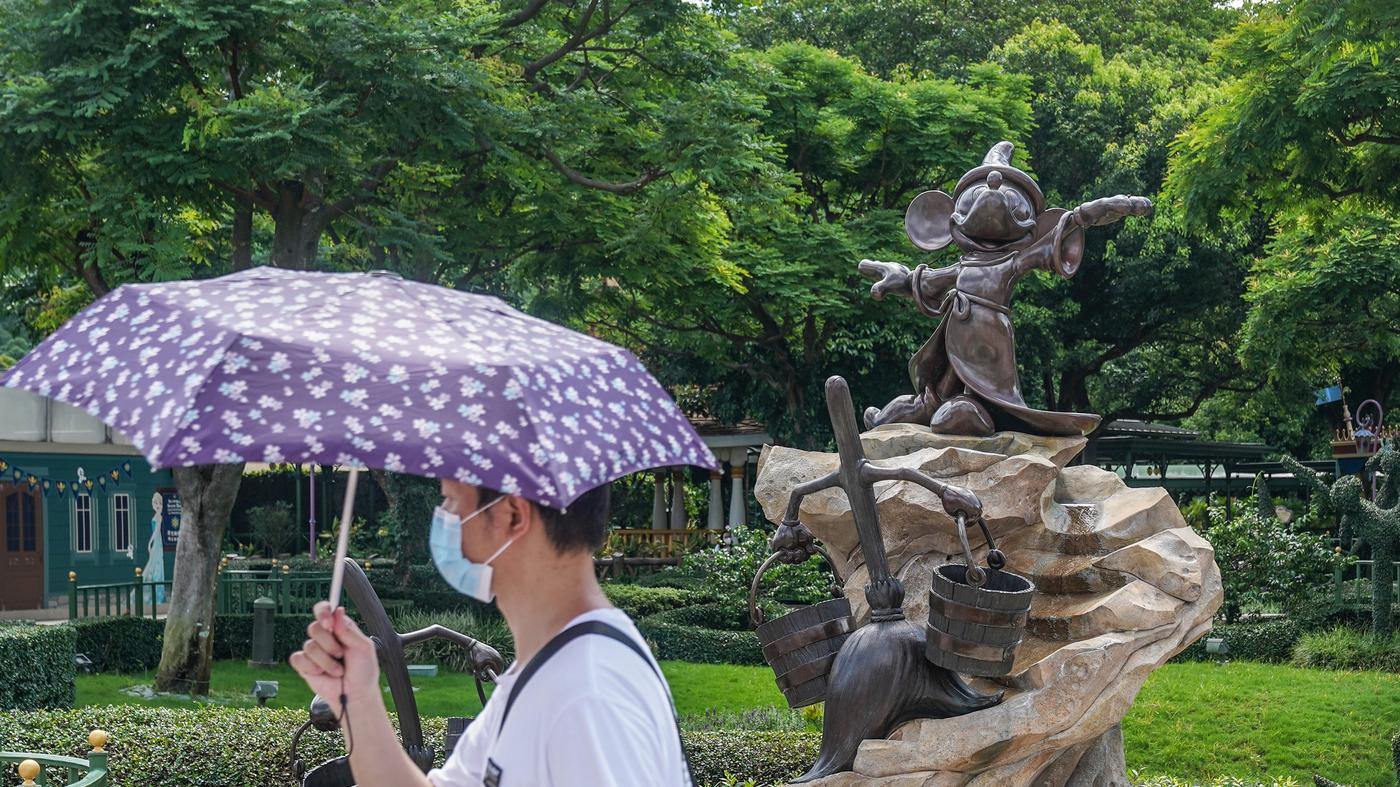 Hong Kong Disneyland Closes Again Because Of Coronavirus - NPR