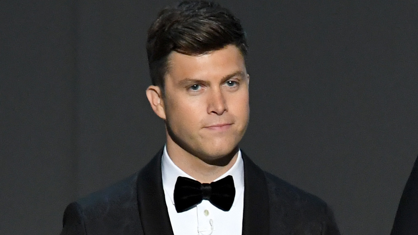 Snl Comic Colin Jost Knows You Re Laughing At His Very Punchable Face Npr