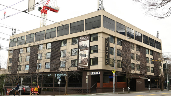 The Rydges on Swanston hotel in Melbourne, Australia, photographed on Tuesday. The hotel is one of the sources of Melbourne