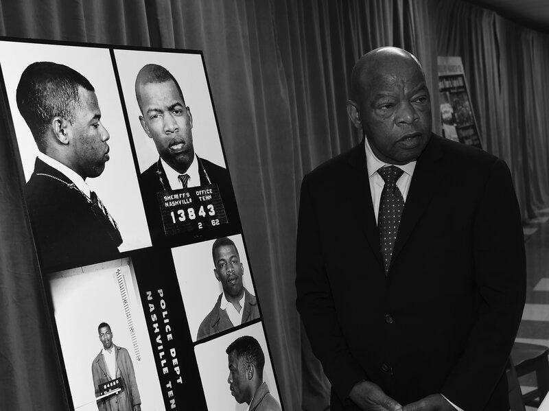 Civil Rights Leader John Lewis Never Gave Up Or Gave In : NPR