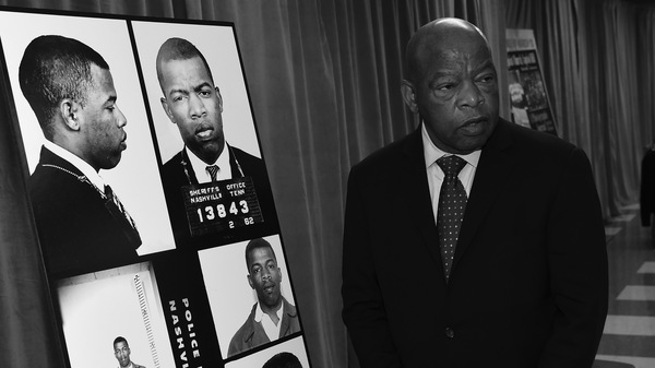 In November 2016, Congressman John Lewis viewed for the first time images and his arrest record from a March 5, 1963, nonviolent sit-in at Nashville