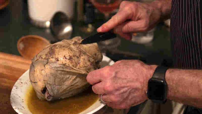 Cooking Chicken In A Pig's Bladder (It Sounds Better In French) With Bill Buford