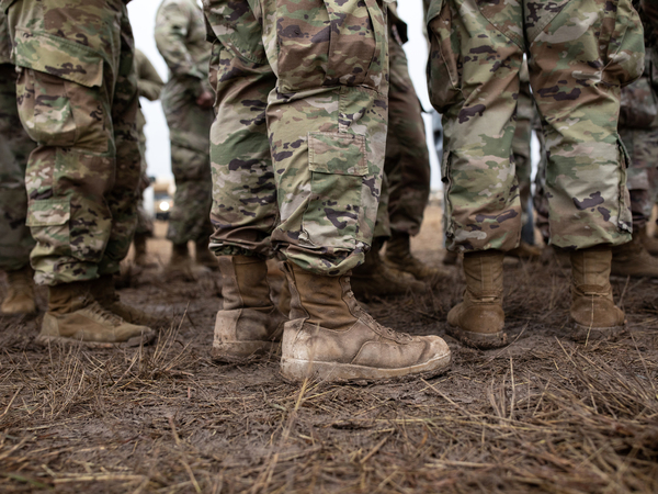 The Pentagon will take immediate steps to begin addressing discrimination in the armed forces, Defense Secretary Mark Esper said Wednesday. U.S. Army troops are seen here in Texas along the U.S.-Mexico border in November 2018.