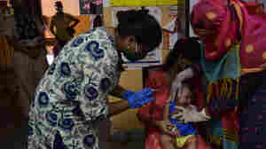 U.N. Points To 'Alarming Decline' In Child Vaccinations