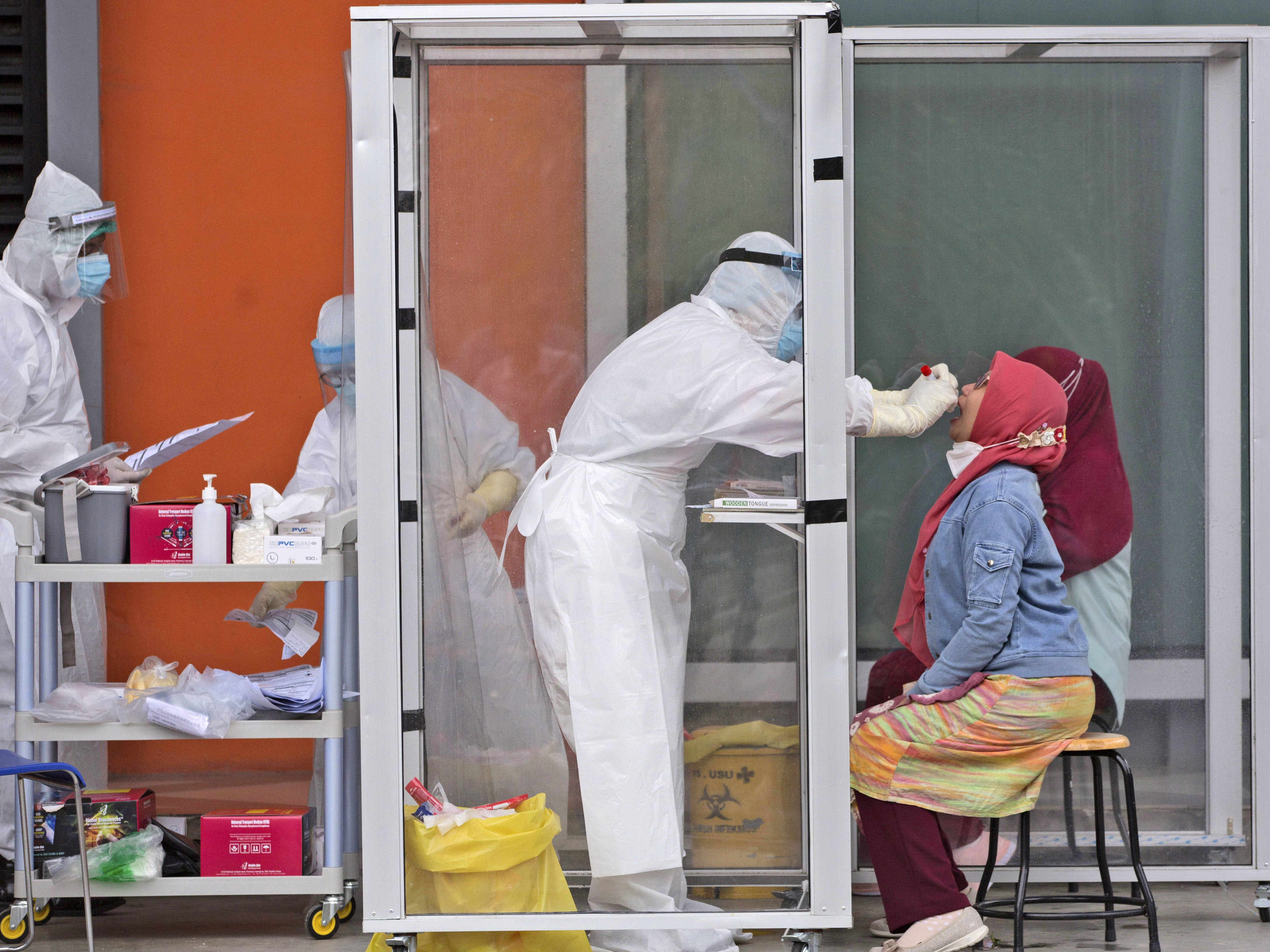 Indonesia Stumbles As Coronavirus Cases Surge Coronavirus Updates Npr