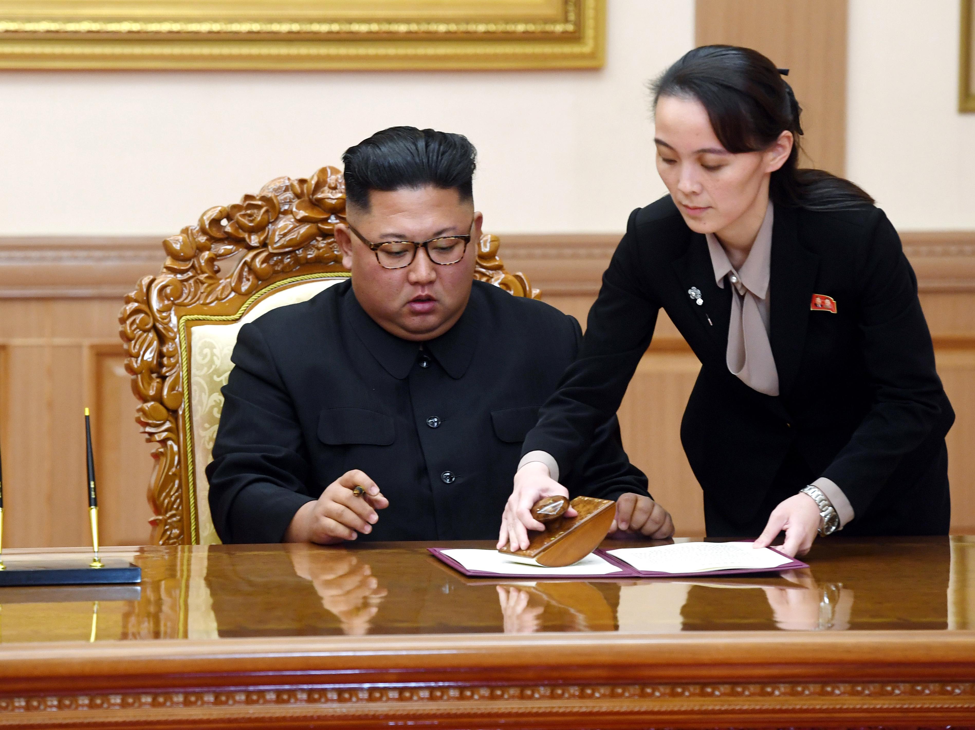 Kim Yo Jong, Sister Of North Korea's Ruler, Rises Through Ranks With Tough  Rhetoric : NPR