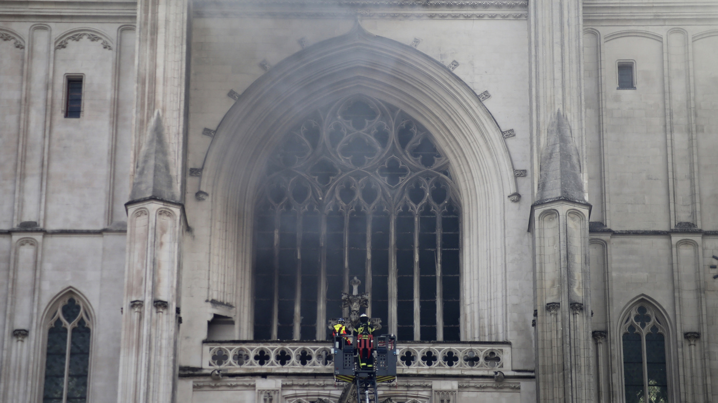 Blaze At Centuries-Old Cathedral In Nantes Under Investigation As Arson – NPR