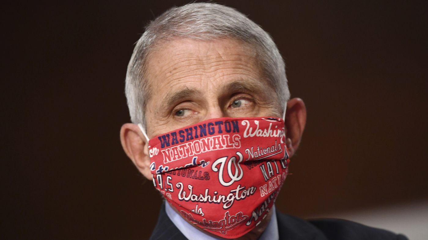 Dr. Anthony Fauci To Throw First Pitch For Washington Nationals' Season Opener – NPR