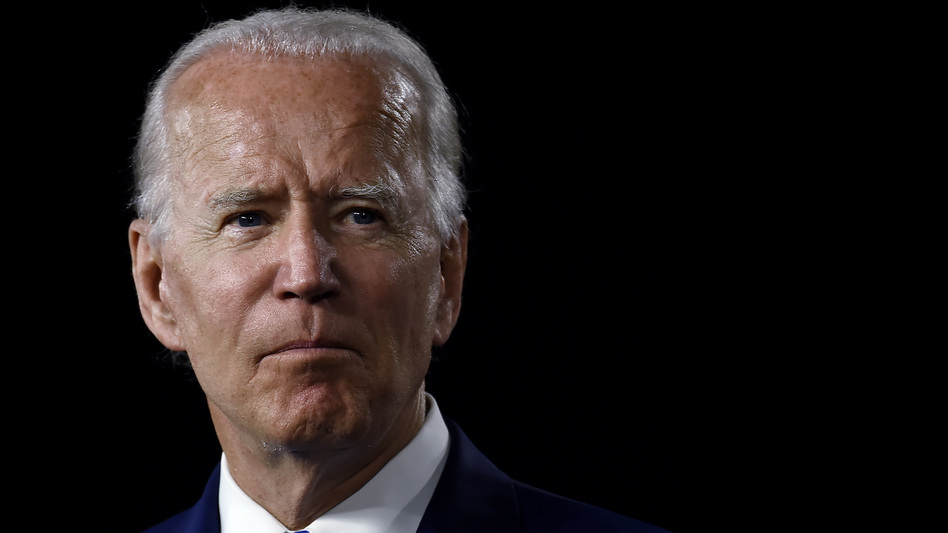 Presumptive Democratic presidential nominee Joe Biden is seen on July 14. (Olivier Douliery/AFP via Getty Images)