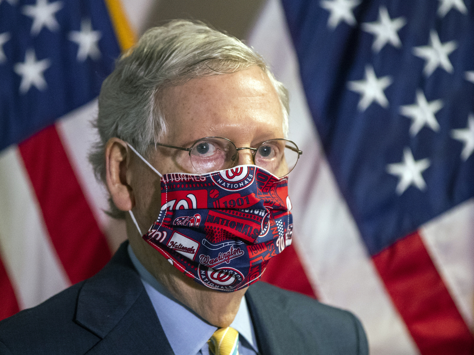 Senate Majority Leader Mitch McConnell is expected to unveil a Senate GOP proposal this week estimated to cost around $1 trillion. (Manuel Balce Ceneta/AP)
