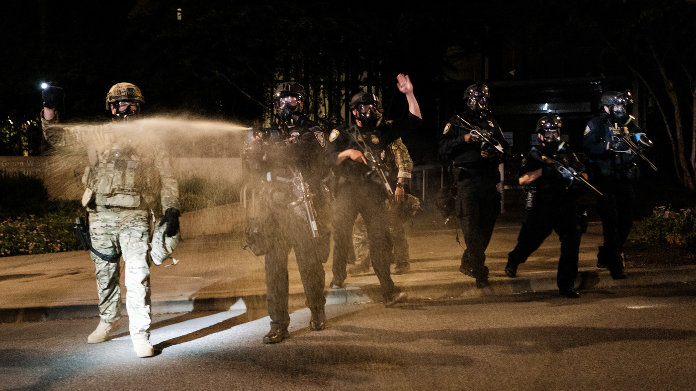 Portland Police Union Leader Worries Protests Can Be Overshadowed By Violent Acts – NPR