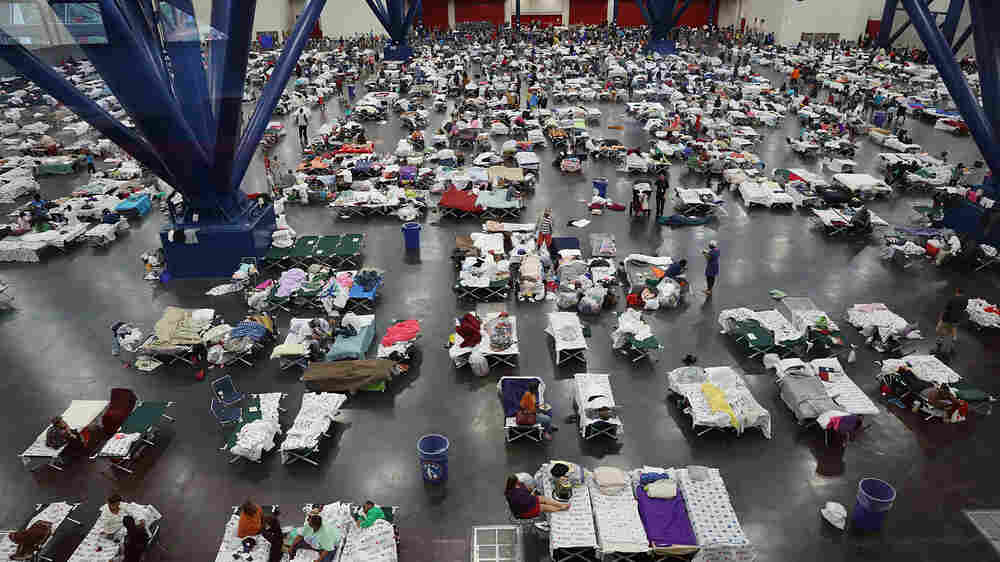 U.S. Disaster Response Scrambles To Protect People From Both Hurricanes And COVID-19