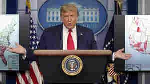 In Reversal, Trump Says Schools In Coronavirus Hot Spots Should Delay Reopening