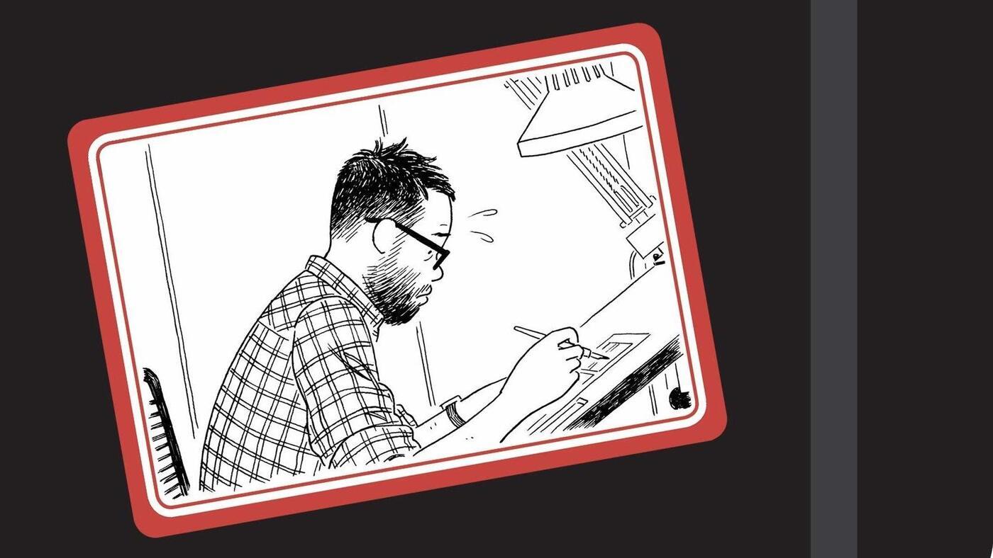Image of article 'Cartoonist Adrian Tomine's Self-Deprecating, Self-Aware Humor Shines In Memoir'