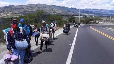 El Hilo: Walking To Venezuela