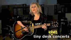 Watch Lucinda Williams Play A Tiny Desk From Home
