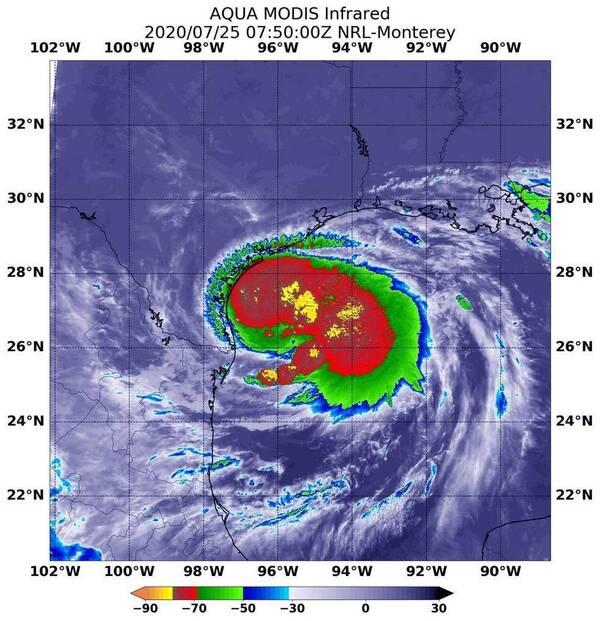 Hurricane Hanna is the first hurricane of the 2020 Atlantic hurricane season.